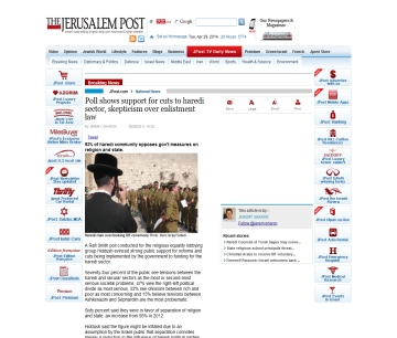 http://www.jpost.com/National-News/Poll-shows-support-for-cuts-to-haredi-sector-skepticism-over-enlistment-law-325521
