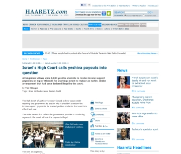 http://www.haaretz.com/print-edition/news/israel-s-high-court-calls-yeshiva-payouts-into-question-1.400262