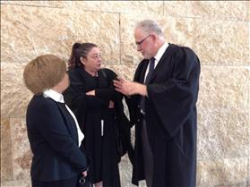 Elad Resident CC and Lawyers Rabbi Uri Regev and Edna Meyrav