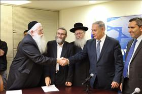 UTJ signs coalition agreement with Likud