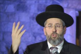 Chief Rabbi David Lau, source: Wikipedia