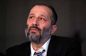 Minister Aryeh Deri, leader of Shas Party