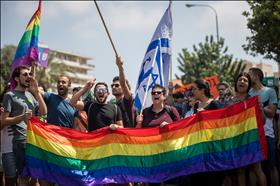 Pride Parade, photo by Yonatan Sindel, Flash90