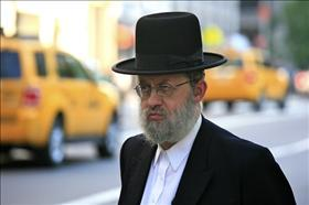 An ultra-orthodox Jew in NYC, source: Wikipedia