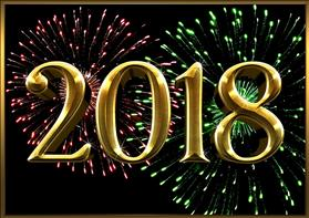 New Year 2018, source: Pixabay