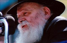 Rabbi Menachem Mendel Schneerson, source: Wikipedia