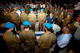 IDF military funeral, source: Wikipedia
