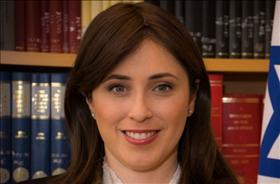 Deputy Foreign Minister Hotovely (Likud), source: Wikipedia